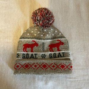 Goat XMAS hat